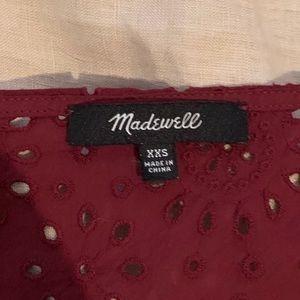 Madewell Tops - Madewell Eyelet blouse